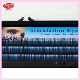 $enCountryForm.capitalKeyWord Australia - Top selling C curl Eyelash Handmade Synthetic Black False Eyelashes Extension Thickness(0.12mm)8 10 12mm natural false eyelashes