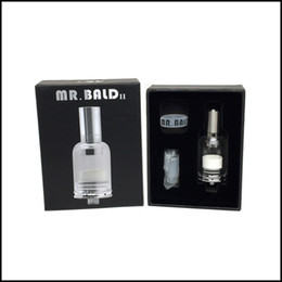 China Hot selling Mr Bald II dry herb baking vaporizer with ceramic heating coil 4 seconds heating DHL free suppliers