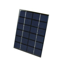 Chinese  DHL Shipping 100Pcs Lot 2W 6V Polycrystalline Solar Cell Panel PET Laminated Solar Panel for DIY Solar Project and Experiment manufacturers