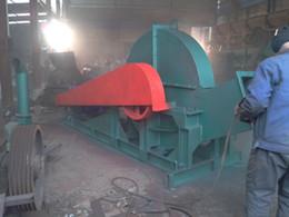 Elektrikli motor tahrikli disk odun parçalayıcı, biyokütle yakıt için odun yongaları işleme makinesi