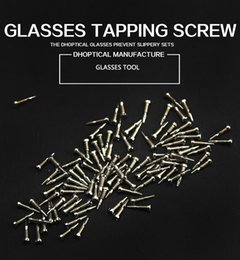 spring hinges Canada - 10000pcs set self tapping Glasses Eyewear Spectacle Accessories Spring Hinge Screws