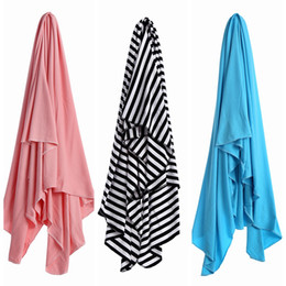 Cotton Cart NZ - Baby Cotton Blankets Newborn Square Sleeping Bags Toddler Wraps Swaddling Nursery Cover Bedding Stroller Cart Swaddle Robes Bath Towel F461