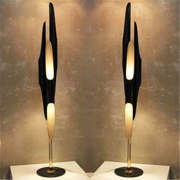 Modern Creative Individuality Floor Lamps Living Room Bedroom Study Room Floor  Lighting Fixtures Coltrane Bevel Aluminum Tube Lamps Cheap Tube Floor Lamps