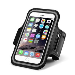 $enCountryForm.capitalKeyWord UK - For Iphone 8 Waterproof Sports Running Case Armband Running bag Workout Armband Holder Pounch For iphone Samsung LG CellPhone Arm Bag Band