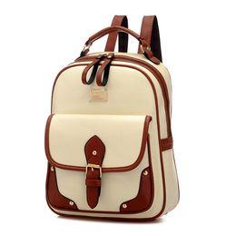 China Women Backpacks Leather Shoulder School Bags For Teenagers Girls Laptop Backpack Waterproof Travel Bagpack Mochila Feminina supplier jansport backpack suppliers