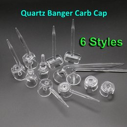 $enCountryForm.capitalKeyWord Canada - High Quality Smoking Accessories!!! 6 Styles Quartz Banger Carb Cap For Female Male 10mm 14mm 18mm Quartz Banger, Quartz Nail, Quartz Trough