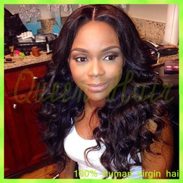ombre full lace wigs Australia - Hot virgin brazilian lace front wigs 130%-180% density glueless full lace human hair wigs top quality body wave lace front wigs