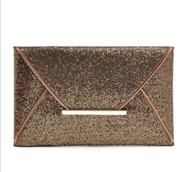$enCountryForm.capitalKeyWord Canada - New Fashion Envelope bags Glitter Sparklinbg Bling Sequins Evening Party Purse Bag Handbag Women Clutch Bags Free Shipping