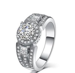 $enCountryForm.capitalKeyWord UK - Lad Diamond Engagement Ring Certified Round & Trapezoid Cut 4.00 Ct Platinum Filled