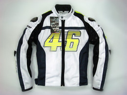 Breathable Summer Motorcycle Jackets Australia - 2015 new summer VR46 Rossi D1 motocross motorcycle clothes moto racing suits motorbike jackets made of titanium and mesh S M L XL XXL XXXL