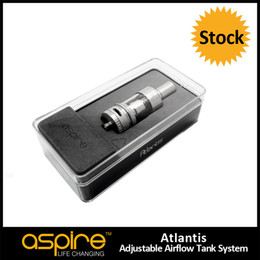 Discount rda glass tanks Stock Offering Aspire Atlantis Sub oHm Tank 2ML Aspire Atlantis Tank in Cute Gift Box, Nice Aspire Atlantis Clearomizer Tank RDA E Cigarette