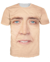 T-shirt En Gros Plus En Taille Pas Cher-Wholesale-Drop expédition! Nicolas Cage T-Shirt National Treasure impression 3d t-shirt Femmes Hommes Summer Style Fun teeps plus la taille