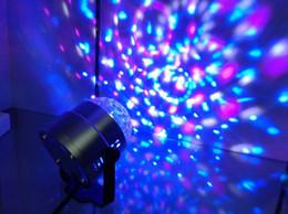 usa lighting 2019 - LED Mini Rotating lamp Magic Ball Party Light Disco Stage Lighting RGB Colorful Disco DJ Party KTV Stage Light laser Lig