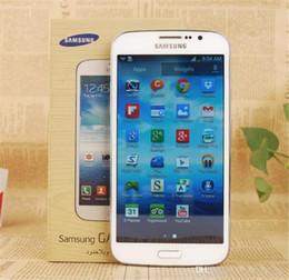Mega cell phones online shopping - Original Unlocked Samsung Galaxy Mega I9152 Cell Phones quot Dual Core GB RAM GB ROM refurbished MP Camera WIFI GPS
