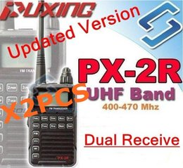 $enCountryForm.capitalKeyWord Canada - Wholesale-2 X Updated version Puxing PX-2R Plus Half dualband dual receive Two Way Radio FM transceiver Keypad LCD for security,hotel,ham