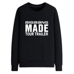 Sweatshirt Kinder Pas Cher-Mode Kpop Bigbang Made Hoodie One Of A Kind Vêtements Loster Good Boy Sweatshirt Automne Hiver Fleece Pullover Bigbang