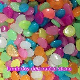 Decorazione all'ingrosso pietra artificiale leggero leggero ghiaia pietra bagliore di pietra per la casa Fish Tank Decoration ouc2092