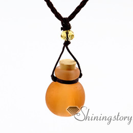 $enCountryForm.capitalKeyWord Canada - small perfume bottles oil diffusing necklace aromatherapy diffuser jewelry wholesale diffuser necklace vintage perfume bottle necklace diffu