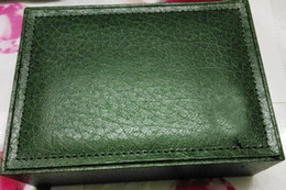 Green Watches For Men Canada - Fashion Swiss Original Brand Watch Boxes Green Box and Papers For Rolex Watches Men Mens Wristwatches Booklet Card in English Free Shipping