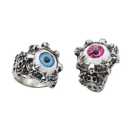 silver item with jewelry rings mixed blue eye plated evil cz platinum round luxury new face white