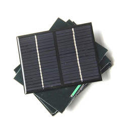 Laptop Sale Factory Canada - Hot sale 18V 1.5W Epoxy Solar Panels Mini Solar Cells Polycrystalline Silicon DIY Solar Module For 12V 115*90*3MM 10PCS Lot Free Shipping