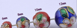 wholesale-6mm,8mm,10mm,12mm cloisonne beads child loose beads Quantitys Optional on Sale