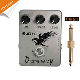 Echo Pedals Australia - Joyo JF-08 Digital Delay effects pedal with quality stompbox with musical features MU0008