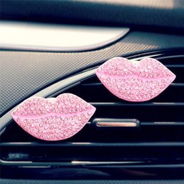 Lips For Cars NZ - Car Loving Sexy Gift Air Outlet Fragrant Perfume Clip Lips Freshener Diffuser car accessory for all