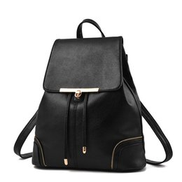 Chinese  Fashion Designer PU Leather Women Backpack Drawstring School Bags For Teenagers Girls Female Travel BackPacks Burgundy manufacturers