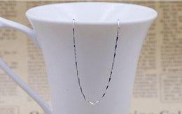 Großhandel S925 Sterling Silber Halskette weiblichen kurzen Absatz Schlüsselbein neue Samen Silber Schmuck Kette mit Einzelstrangkette
