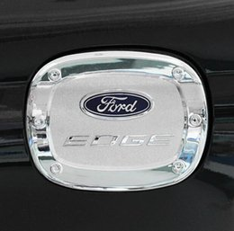New Abs Electroplating Exterior Special Fuel Tan Cap Refit Stickers With Decorative Sequins Body Use For Ford Edge