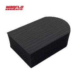 Discount clay blocks - Wholesale- Auto Care Magic Clay Bar Pad Mitt Microfiber Towel Cloth Wash Cleaning Polishing Sponge Block Tools MARFLO by