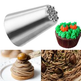 Xmas Cupcakes Australia - Wholesale- Russian Tulip Icing Piping Nozzles Cupcake Decoration Rose Pastry Tips Tool XMAS