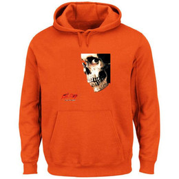 mixed color hoodie UK - Free Shipping Men's Sweatshirts Men's Evil Dead II Skull Classic Movie Hoodie Green Performance Pullover Hoodie Mix Order