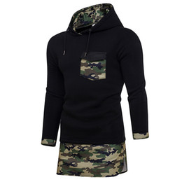 mixed color hoodie UK - Wholesale men and women wear new style street sports long sleeve camouflage hoodie mixed colors hooded sweater jacket