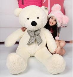 $enCountryForm.capitalKeyWord Canada - Good Sales Plush toys large size 100cm teddy bear big embrace bear doll  lovers christmas gifts birthday gift 96339-96342