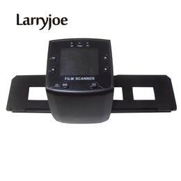 Chinese  Wholesale- Larryjoe Digital Film Scanner Converts 35mm Negative Film &Slide Monochrome to JPG Storage into SD Computer manufacturers