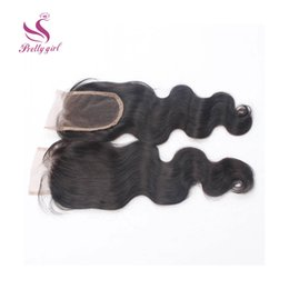 $enCountryForm.capitalKeyWord Canada - Top Lace Closure Indian Body Wave Virgin Human Hair Full Lace Closures Free Middle 3 Way Part Bleached Knots Closures 4x4Inch Size 8-22inch