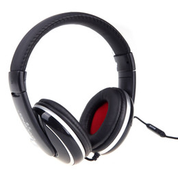 Ovleng Headphones UK - OVLENG X9 3.5mm Jack Stereo Headphones Earphones Headset with Microphone Cable Controller for iPhone Samsung Computer MP3