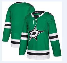 c99781a26d0 2018 nhl hockey jerseys cheap Dallas Stars Kelly Green Authentic Custom  Jersey store usa sports ice hockey blank customized factory kids AD
