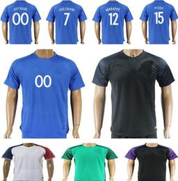 28b371dc5a7 Cheap Soccer Jerseys NZ - Wholesale Cheap Mens Soccer Jerseys 7 GRIEZMANN  POGBA MARTIAL CABAYE BENZEMA