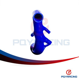 online shopping PQY STORE Silicone Induction Air Intake Pipe Hose Fit For AUDI TT S3 SEAT LEON R Radiator Silicone hose kit Blue PQY SG3301