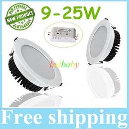 Nature spray online shopping - 9W W W W W W Dimmable Led Downlights Spray White Body SMD5730 Cool Warm White Led Recessed Down Lights V Drivers