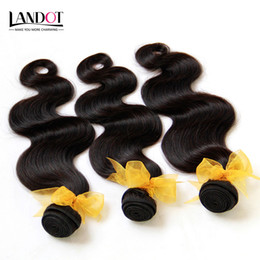 $enCountryForm.capitalKeyWord Canada - Malaysian Body Wave Hair 100% Human Hair Weave Wavy 4 Bundles Lot Grade 8A Unprocessed Malaysian Hair Extensions Natural Black Double Wefts