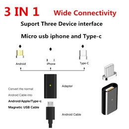 86bd348654f3b9 Metal Micro USB Plug Magnetic Adapter High Speed Charger Data Sync USB  Cables Charging adapterFor Samsung s7 s8 LG Huawei Smart Phone