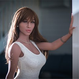 online shopping Customized Available CM silicone sex doll realistic human mannequin sex robot doll big breast lifelike tongue teeth holes