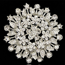 $enCountryForm.capitalKeyWord NZ - sparkling crystals large flower vintage lady brooch factory direct sale wholesale fashion girls pins corsage