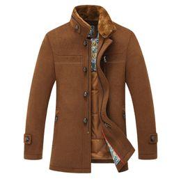 Fur Collar Pea Coat Men Online | Fur Collar Pea Coat Men for Sale
