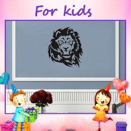 2015 New Style Lion Wall Decals Pvc Sticker Home Decor Cheap Wallstickers  High Waterproof Mural For Kids Room