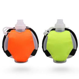 Gears For Sale NZ - Outdoor Sports Water Bottle Hydration Gear Water Bottle Portable Sports Sealed Leak-proof Wrist Running Water Bottle for Sale